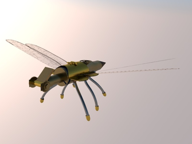 Dragonfly Robot 3