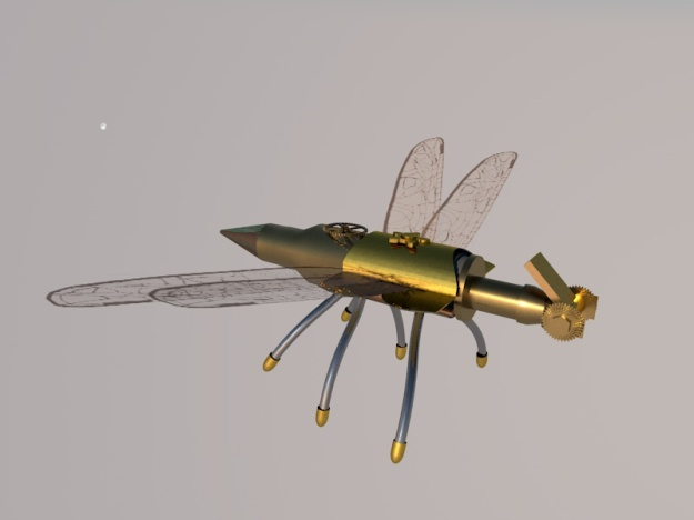 Dragonfly Robot 4