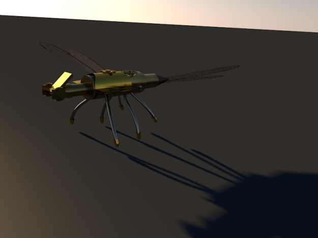 Dragonfly shadow Robot 1