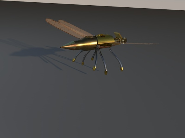 Dragonfly shadow Robot 3