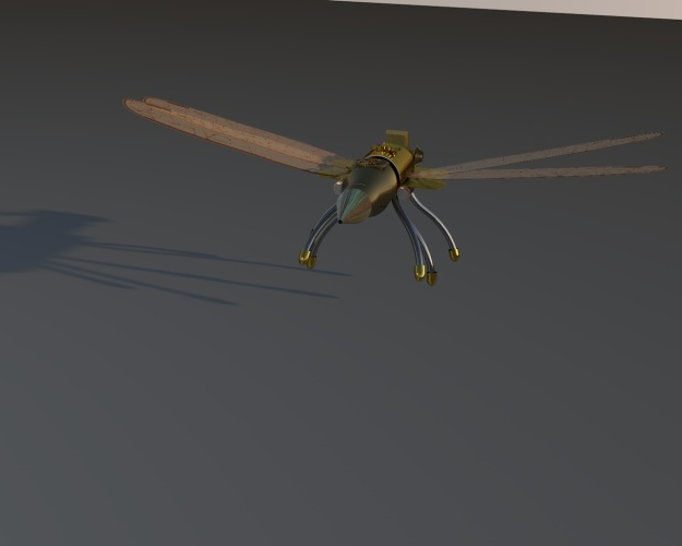Dragonfly shadow Robot 4