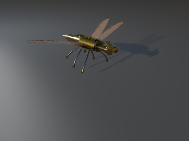 Dragonfly shadow Robot 5