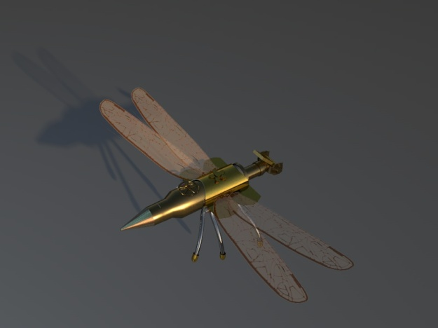 Dragonfly shadow Robot 6