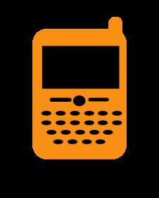 Phone (orange)