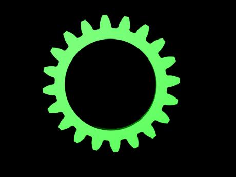 Green Clogwheel
