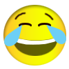 laugh emoticons