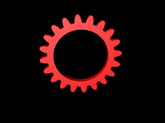 Red Clogwheel