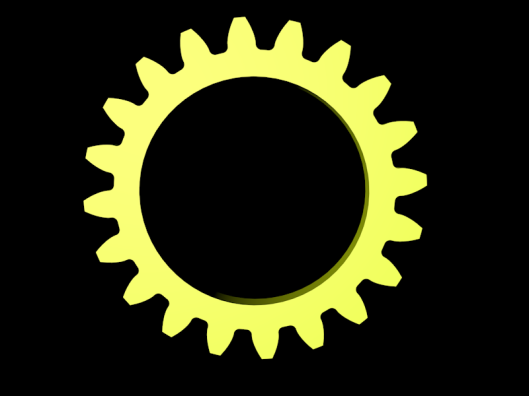 Yellow Clogwheel