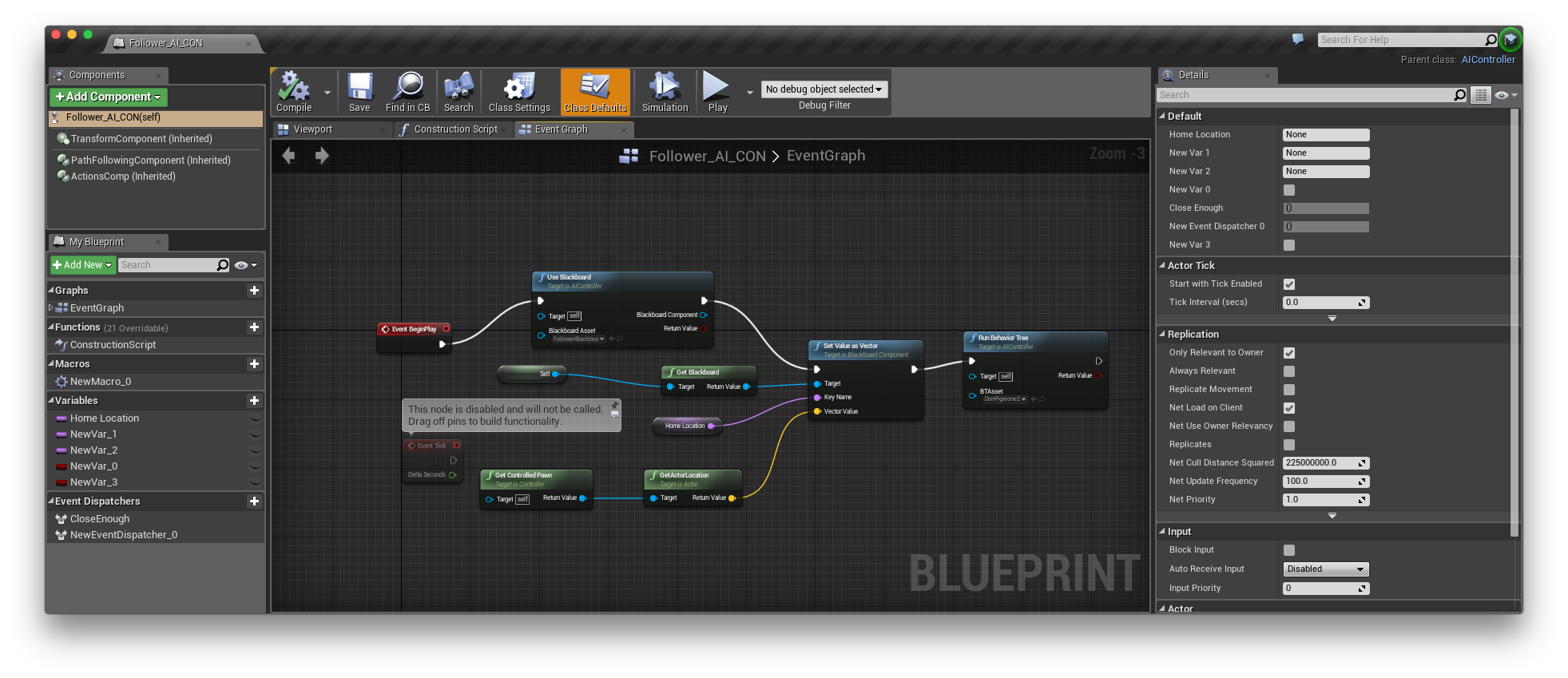 Trying to create ai on unreal engine 4 so frustrated screen shot 2015 12 22 at 204846 malvernweather Image collections