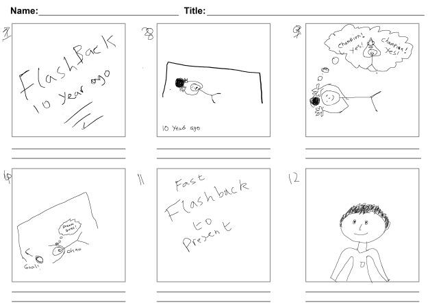 Storyboard (Sketch) 2