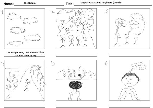 Storyboard (sketch)