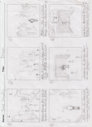 Digital Narrative Storyboard 1