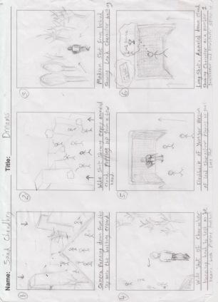 Digital Narrative Storyboard 1