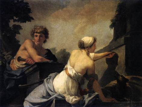 jeanbaptiste-regnault-origin-of-painting-1785